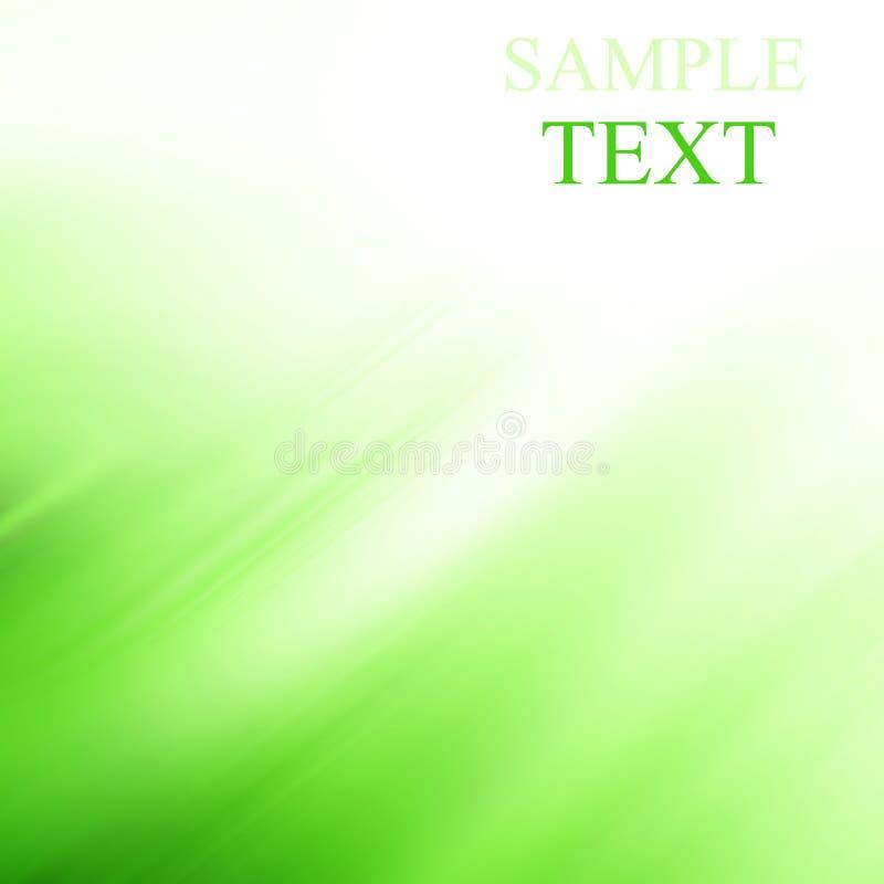 Abstracte groene achtergrond vector illustratie