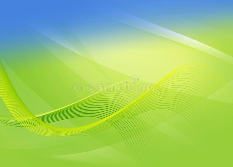 Abstracte groene achtergrond voor ontwerp royalty-vrije illustratie