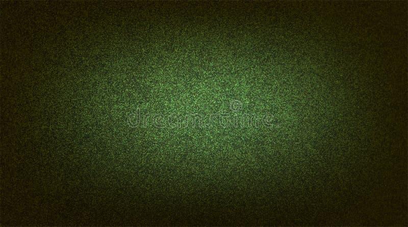 Abstracte groene in de schaduw gestelde geweven achtergrond document grunge achtergrondtextuur Achtergrond behang stock illustratie