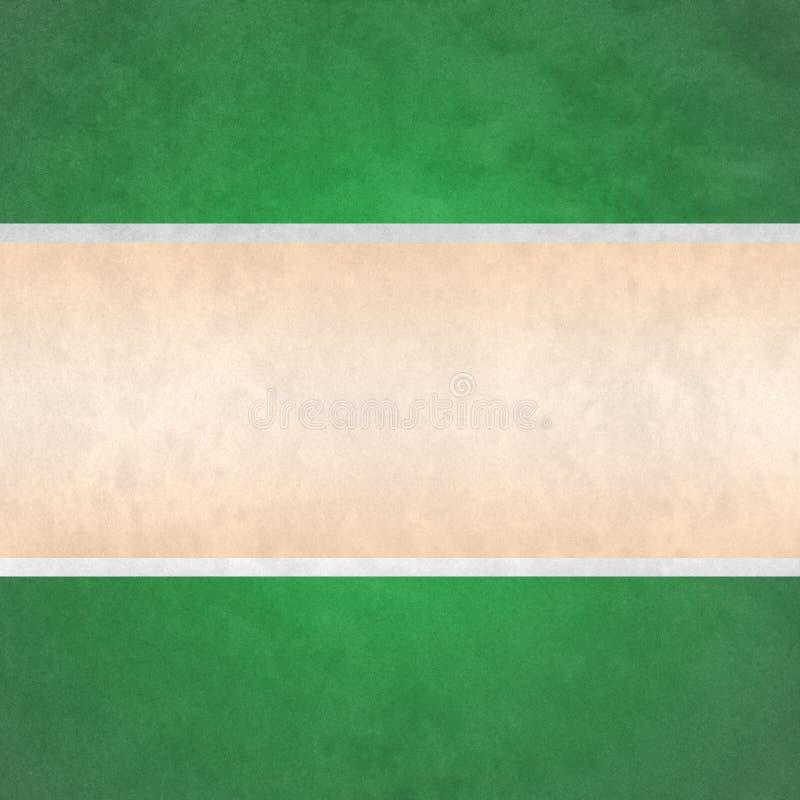 Abstracte Groene en Gele Grunge-Behangachtergrond vector illustratie