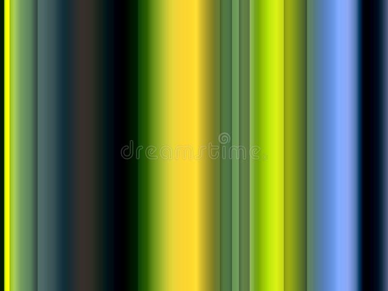 Abstracte groene gouden, fonkelende achtergrond, grafiek, abstracte achtergrond en textuur stock illustratie