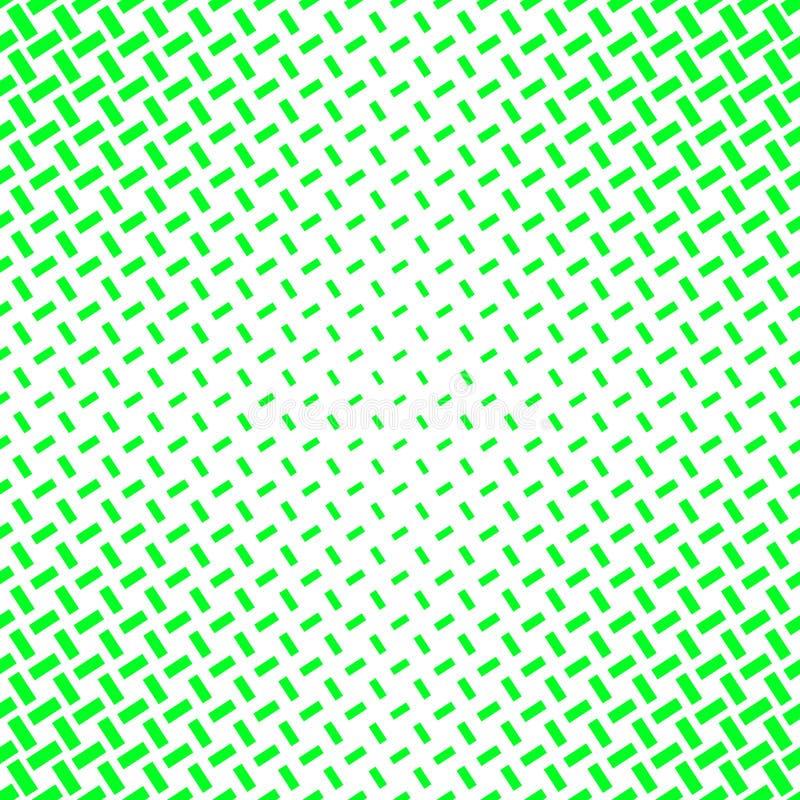 Abstracte groene halftone patroonachtergrond van lijnen royalty-vrije illustratie
