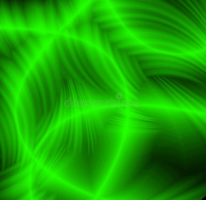 Abstracte groene patronen stock illustratie