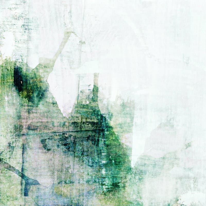 Abstracte grunge groene achtergrond stock foto
