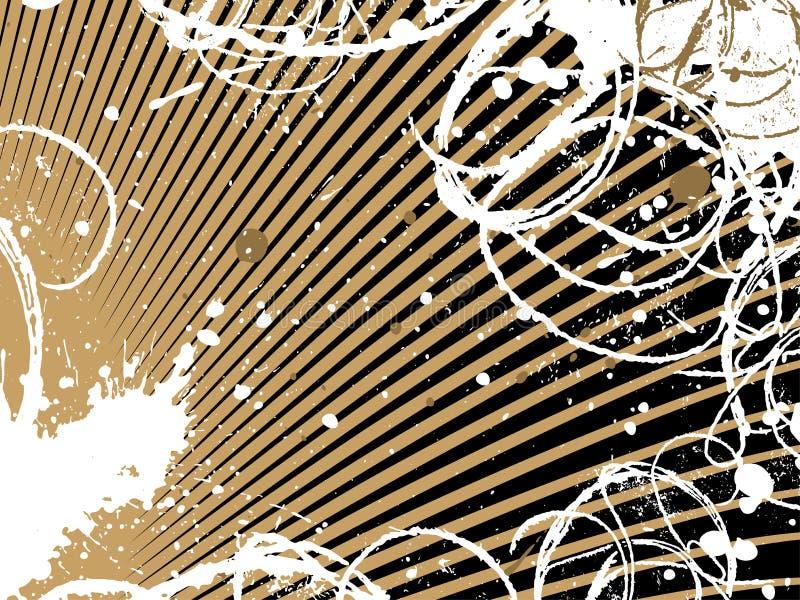 Abstracte grungeachtergrond stock illustratie