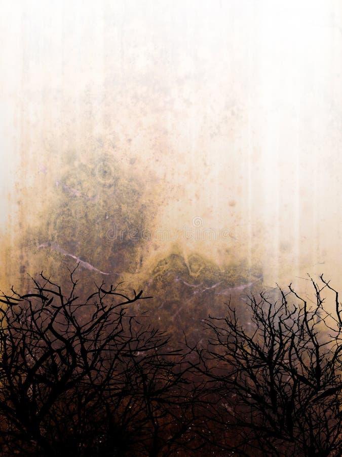 Abstracte grungeachtergrond royalty-vrije illustratie