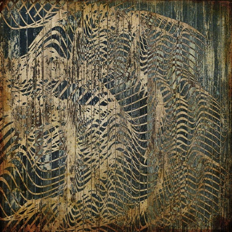 Abstracte grungeachtergrond van de kunst stock foto