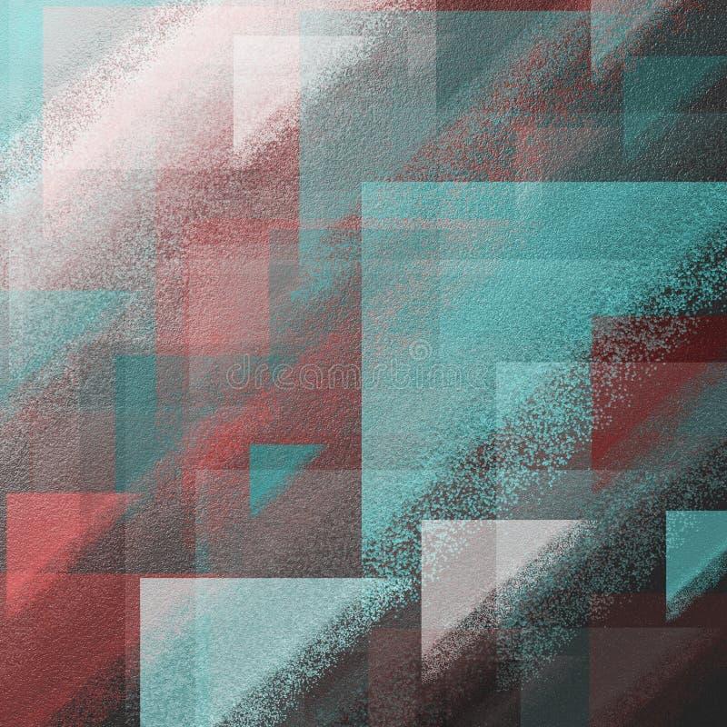 Abstracte grungekwaststreken op ruwe oppervlakte Grungy oppervlakteachtergrond met dikke kleurenvlekken Het werk van het ruwe opp royalty-vrije stock afbeelding