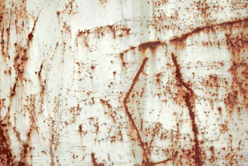 Abstracte grungy de close-upachtergrond van de metaaloppervlakte stock foto