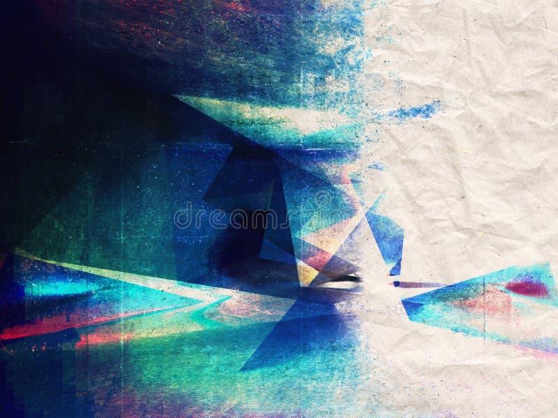 Abstracte grungy textuur als achtergrond vector illustratie