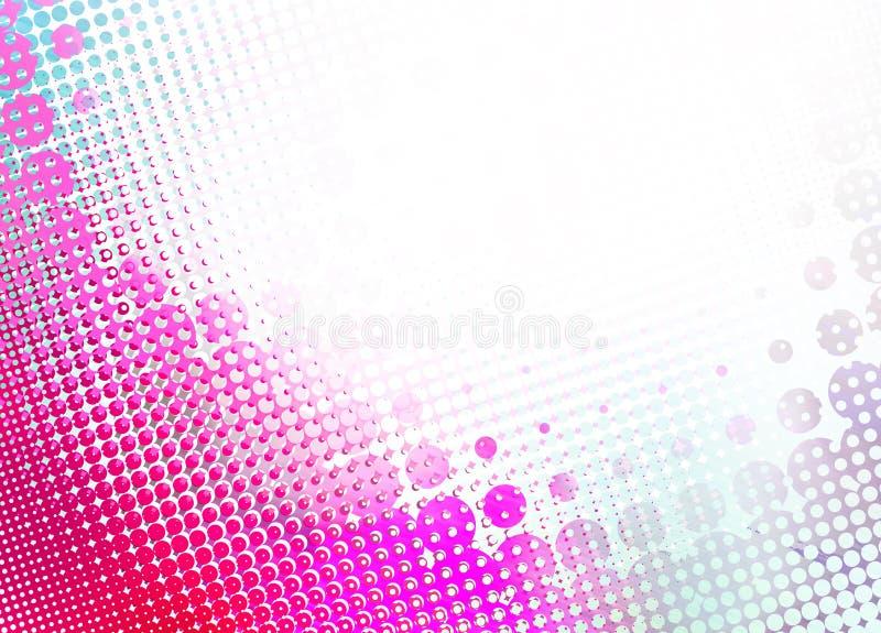 Abstracte halftone achtergrond stock illustratie