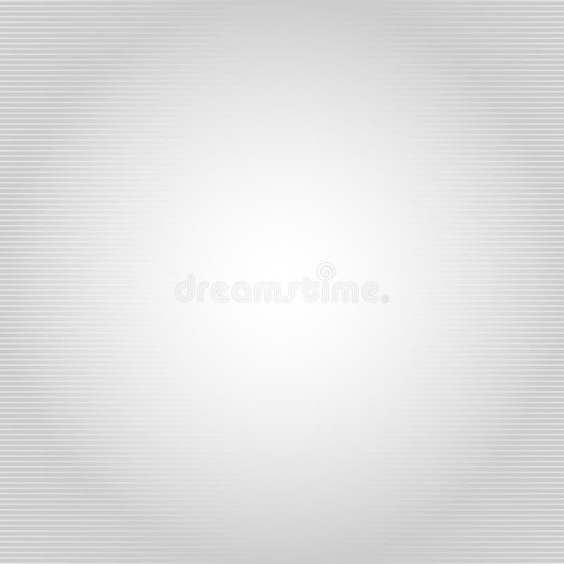Abstracte halftone grijze en witte gradie van het horizontale lijnenpatroon vector illustratie