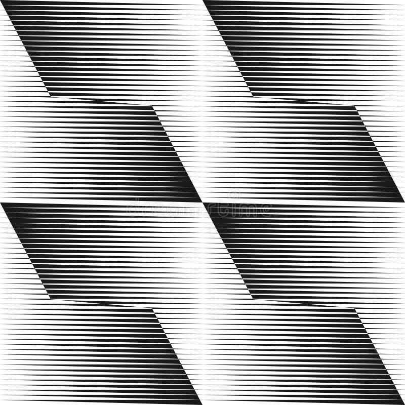 Abstracte halftone lijnenachtergrond royalty-vrije illustratie