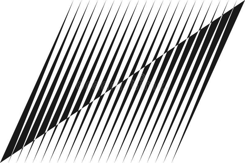 Abstracte halftone lijnenachtergrond vector illustratie