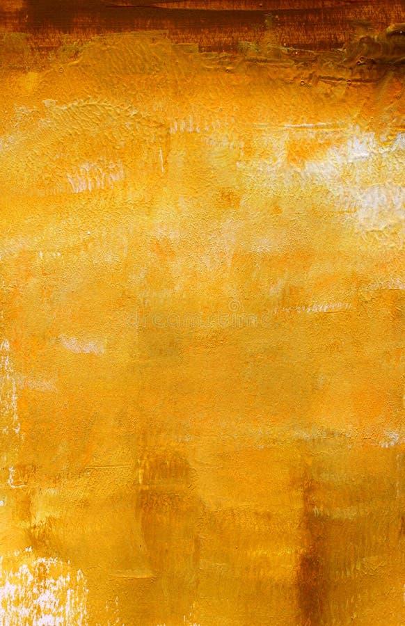 Abstracte hand geschilderde achtergrond stock illustratie