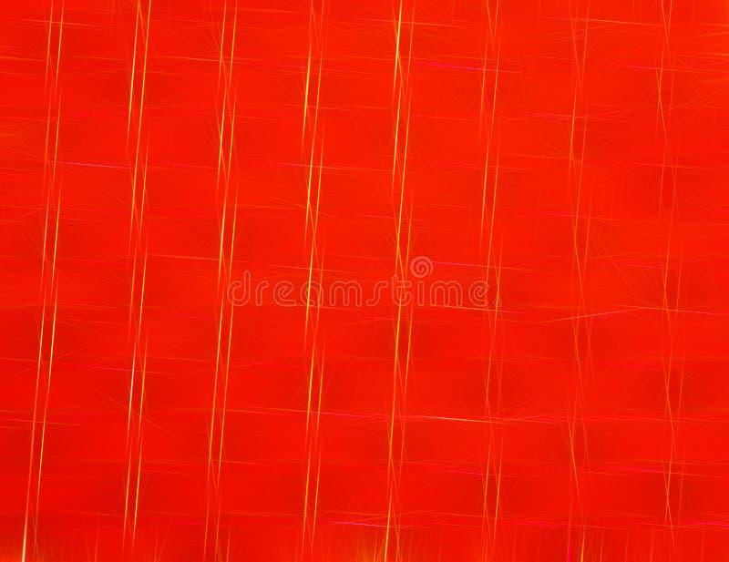 Abstracte heldere achtergrond in rood, materieel of van het luxeontwerp als achtergrond of Behang, achtergrond stock illustratie