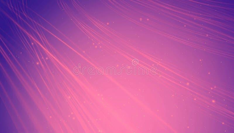 Abstracte heldere purpere energieachtergrond royalty-vrije illustratie