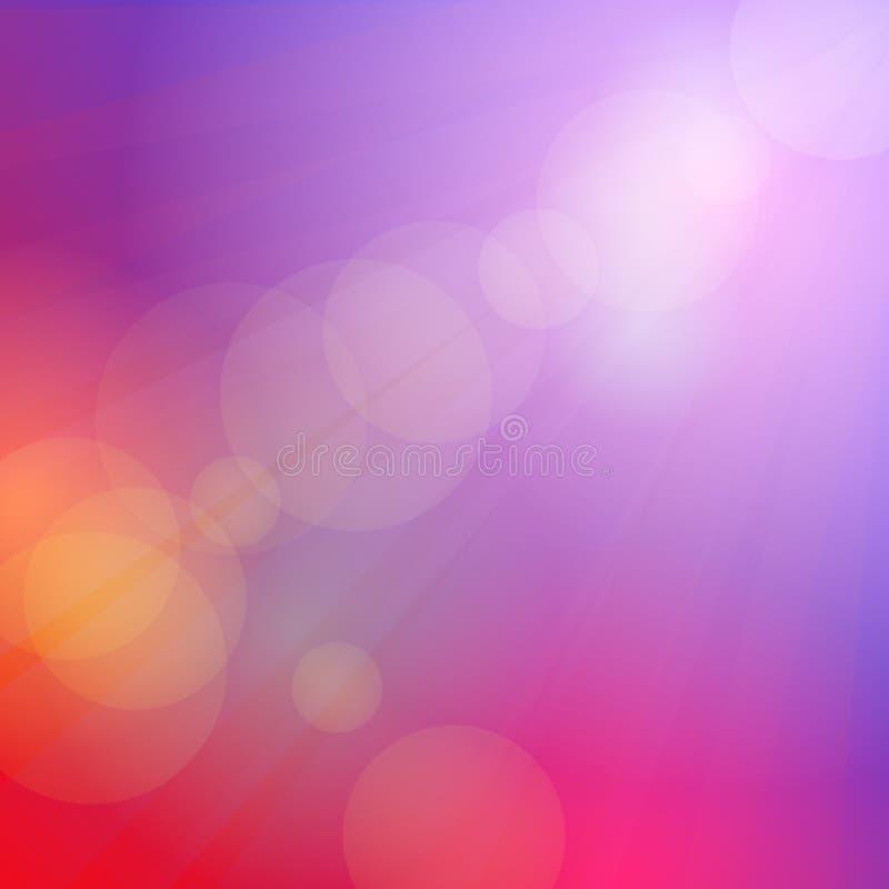 Abstracte hemel roze achtergrond, zonsondergang, dageraad, gekleurd zacht Vector vector illustratie