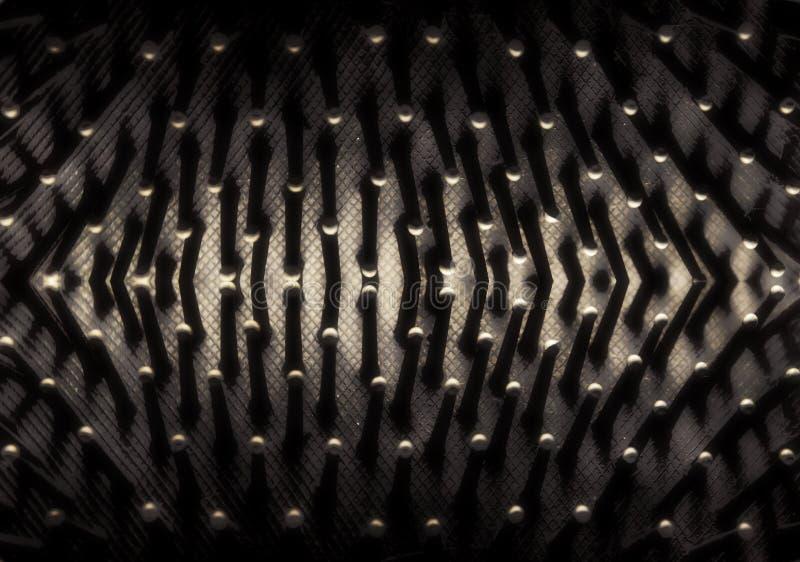 Abstracte het close-up donkere achtergrond van de achtergrondkammassage stock afbeelding