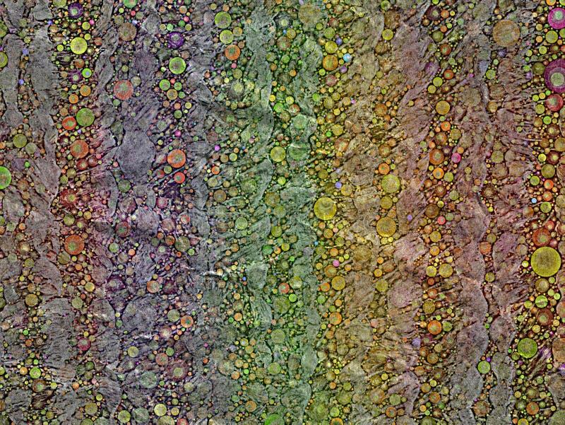Abstracte het mozaïekachtergrond van de suikergoedstreep stock fotografie