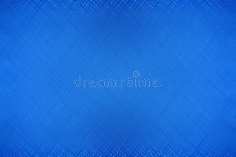 Abstracte het patroonachtergrond van Art Blue stock illustratie
