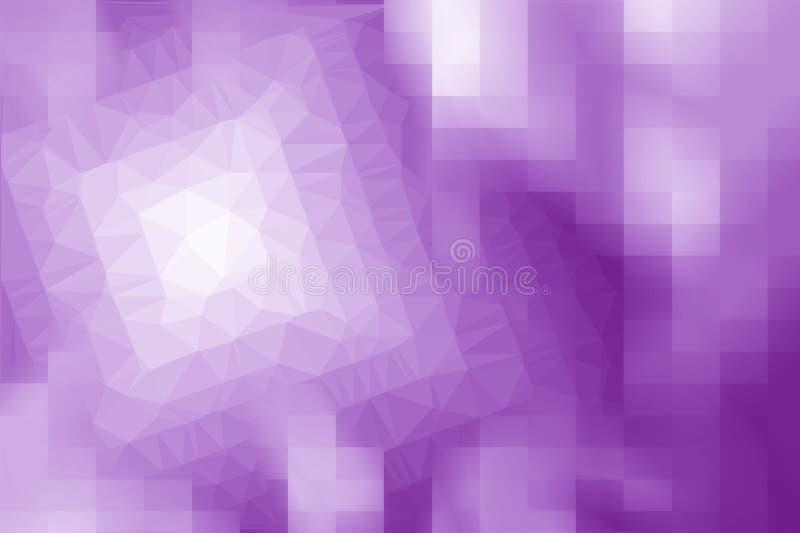 Abstracte het patroonachtergrond van de kunst purpere kleur stock illustratie