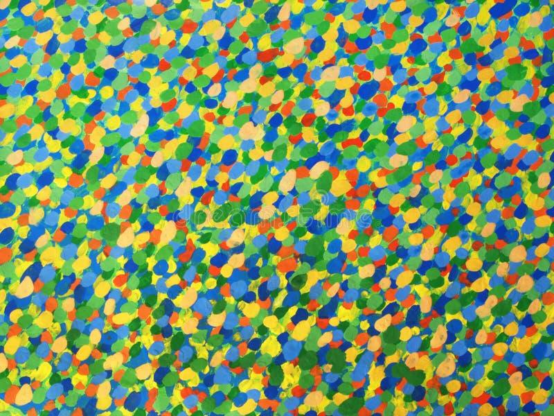 Abstracte het schilderen achtergrond royalty-vrije stock afbeelding