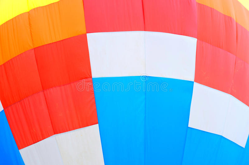 Abstracte Hete Luchtballon stock foto's
