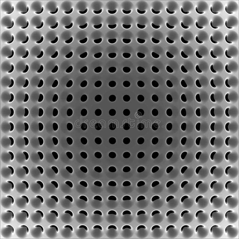 Abstracte high-tech netwerkstructuur vector illustratie
