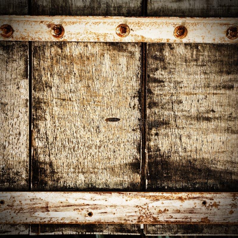Abstracte houten bouten royalty-vrije stock afbeelding