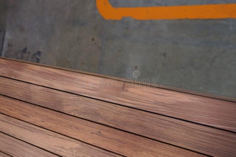 Abstracte houten lat stock fotografie