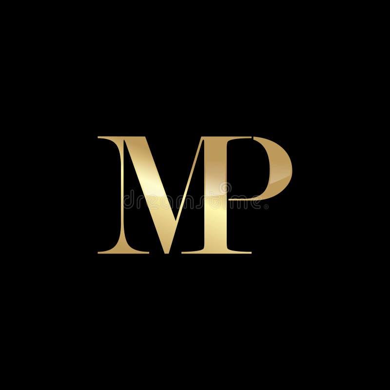 Abstracte Initialen Logo Template stock afbeelding