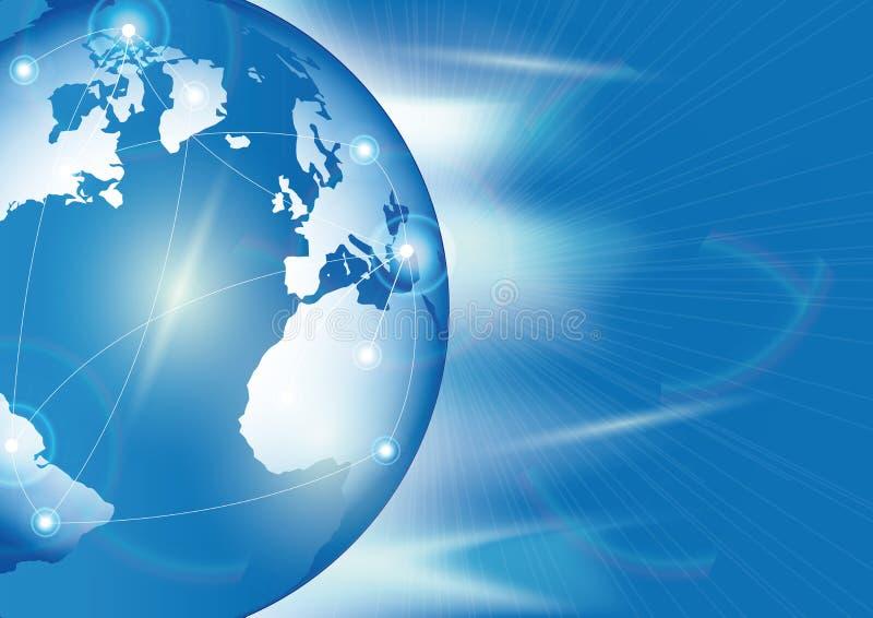 Abstracte Internet achtergrond vector illustratie