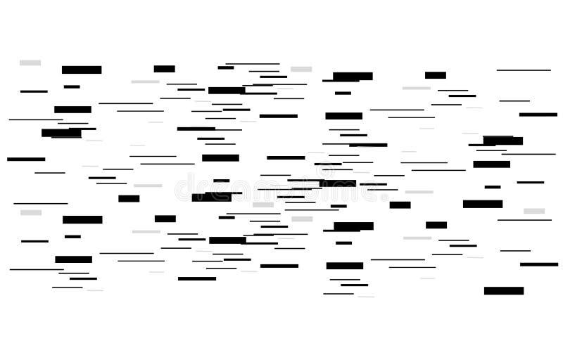 Abstracte kaart en schaduw als achtergrond Geometrische cijfers met het effect van motie Grafisch ontwerp voor grafisch ontwerp - stock illustratie