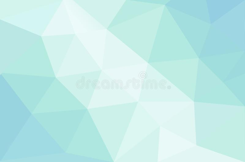 Abstracte kalmerende pastelkleur gekleurde achtergrond royalty-vrije illustratie