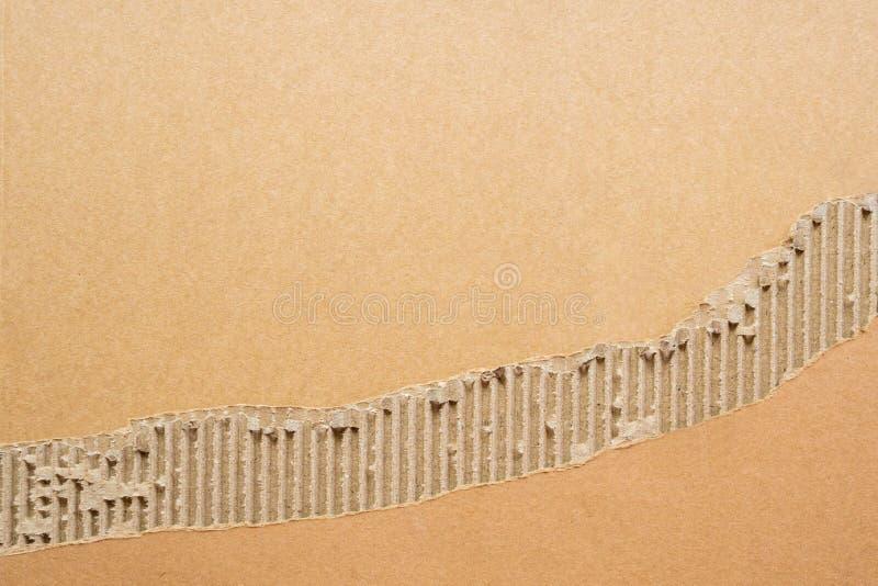 Abstracte kartondocument textuurachtergrond royalty-vrije stock foto