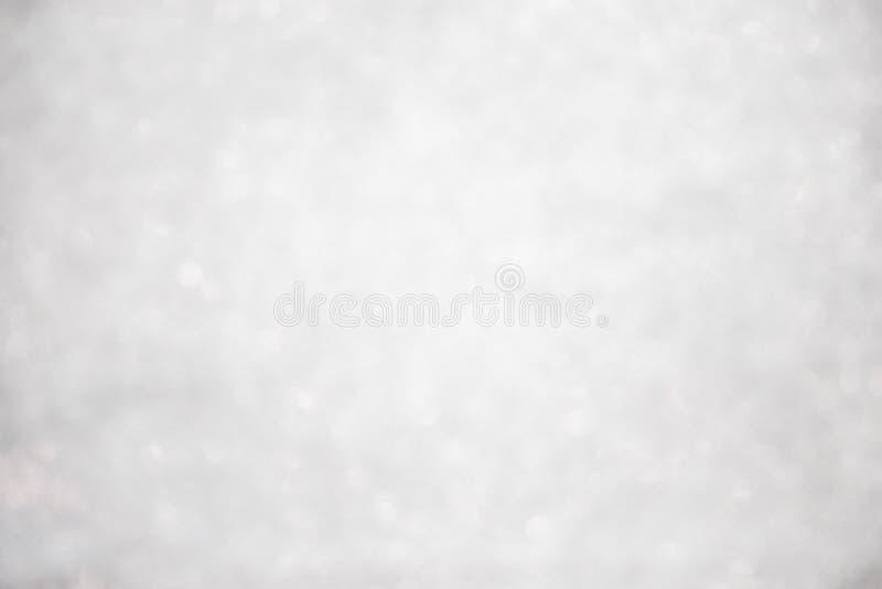 Abstracte Kerstmis fonkelde heldere bokeh defocused en Dalend s royalty-vrije stock foto