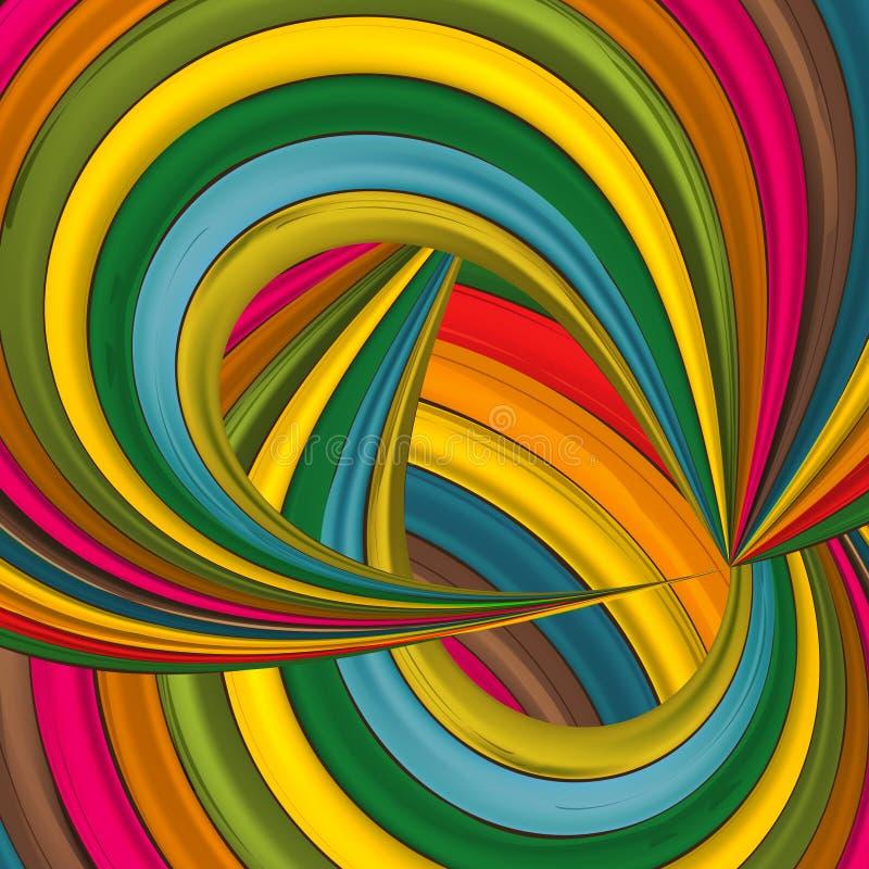 Abstracte kleurenachtergrond vector illustratie