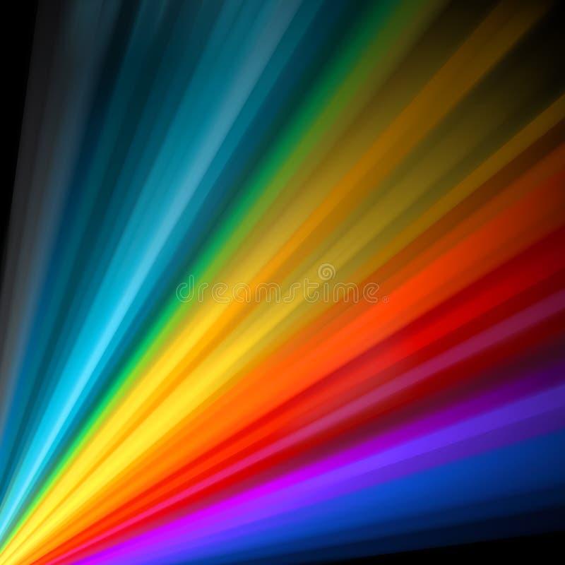 Abstracte kleurenkaart. EPS 8 vector illustratie