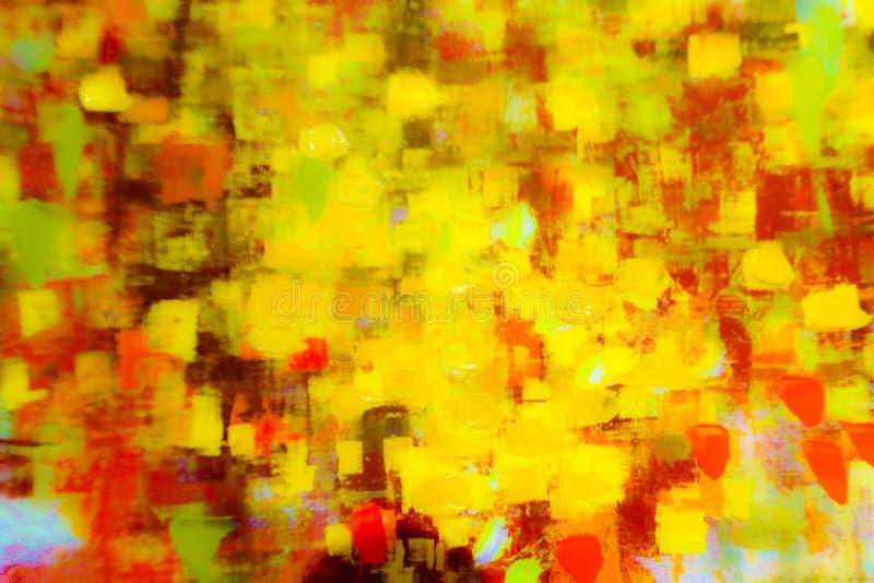 Abstracte Kleurrijk stock afbeelding