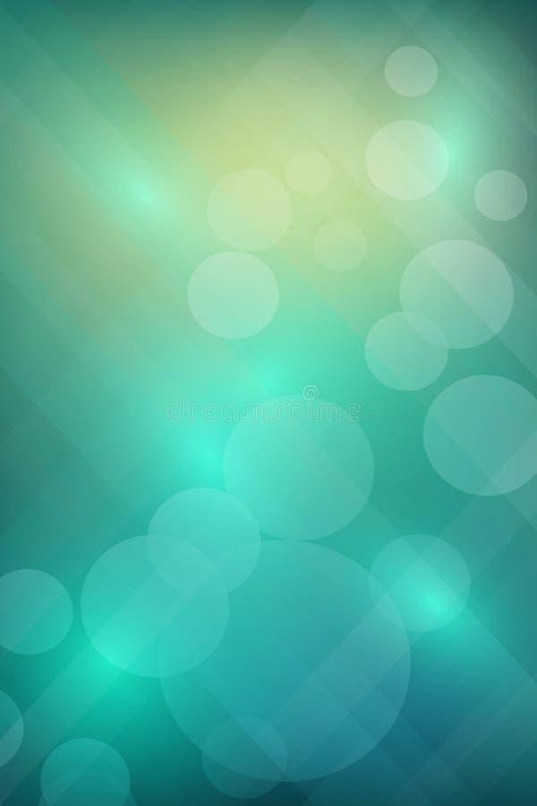 Abstracte kleurrijke achtergrond stock illustratie