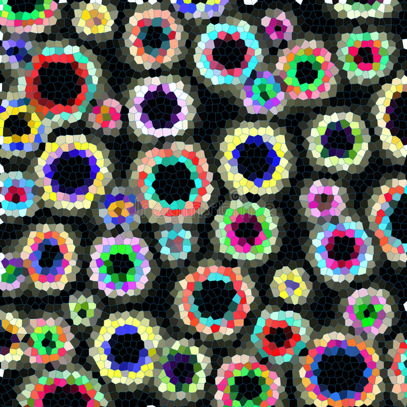 Abstracte Kleurrijke Achtergrond stock fotografie