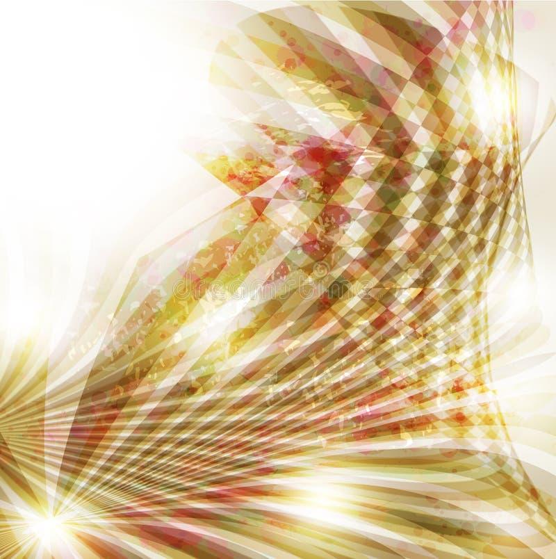Abstracte kleurrijke achtergrond. royalty-vrije illustratie