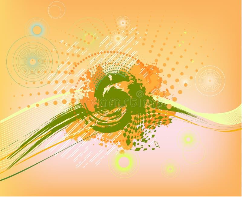 Download Abstracte Kleurrijke Achtergrond Met Punten Stock Illustratie - Illustratie bestaande uit pamflet, art: 29502944