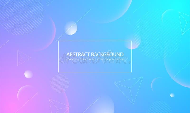 Abstracte kleurrijke achtergrond Vector illustratie vector illustratie