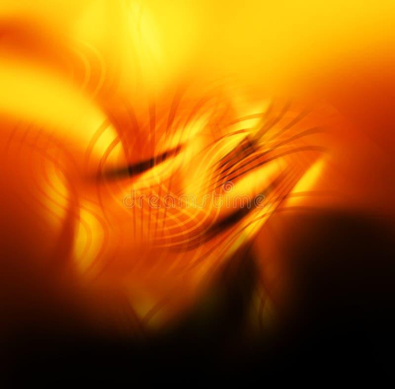 Abstracte kleurrijke achtergrond - vlammen, brand royalty-vrije stock foto's