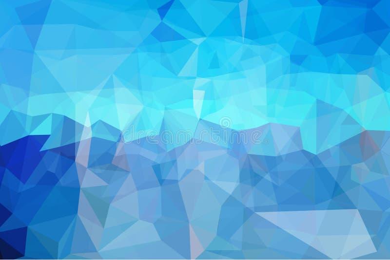 Abstracte Kleurrijke Driehoeksachtergrond stock illustratie