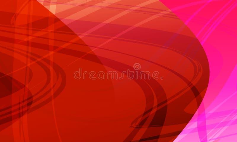 Abstracte kleurrijke golvende achtergrond vlot, kromme Vector illustratie royalty-vrije illustratie