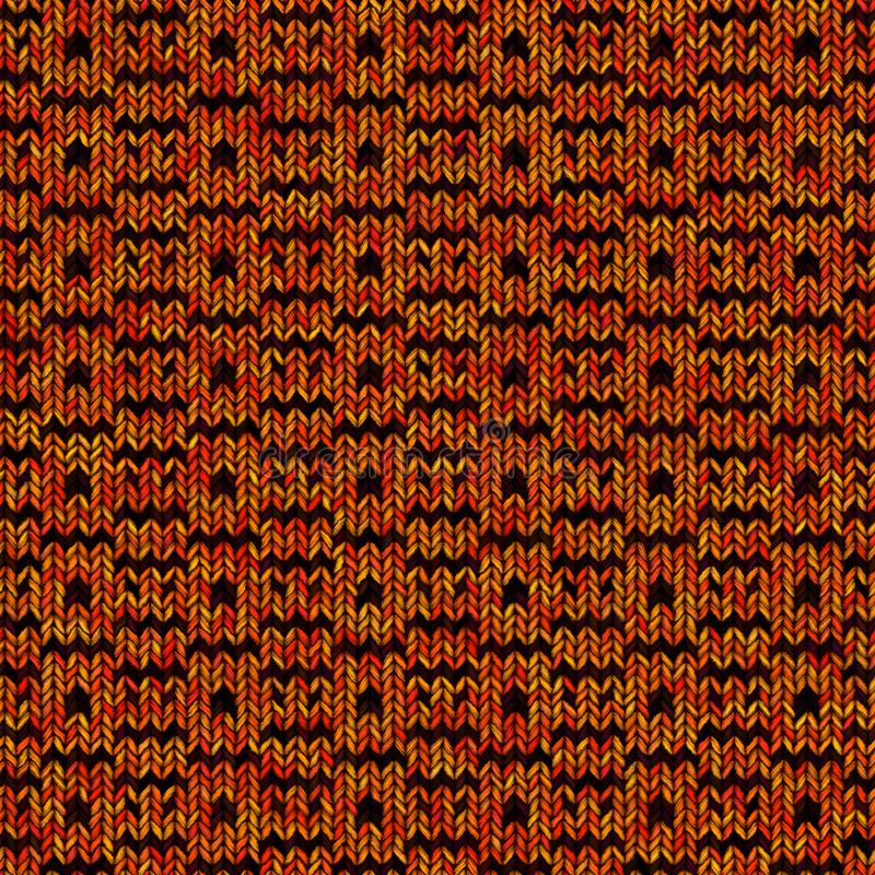 Abstracte kleurrijke het breien textuur Naadloze achtergrond voor ontwerp royalty-vrije stock afbeeldingen