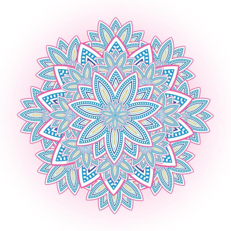 Abstracte kleurrijke illustratie vector illustratie